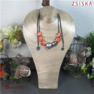 Collection Belli sima, Collier ZSISKA Bijoux 7240102ORGRQ07
