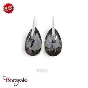 Boucles d'oreilles SPARK bijoux made with Swarovski Elements A78GR
