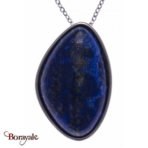 Collier lapis lazuli, Collection: Galet YOLA