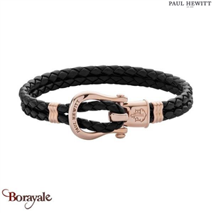 Bracelet -PAUL HEWITT- collection Manille - cuir PH-FSH-L-R-B-M taille M