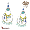 Collection Lilou, Boucles d'oreilles Franck HERVAL 12--63397