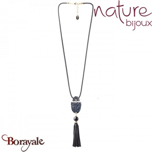 Collection Black Light, Collier Nature Bijoux 15--27372