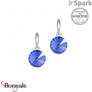 Boucles d'oreilles SPARK collection Candy made with Swarovski Elements A126SA