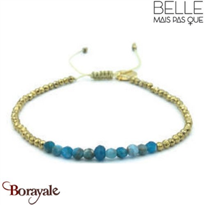 "Bracelet ""Belle mais pas que"" collection Golden Summer BNA-791-GSU"