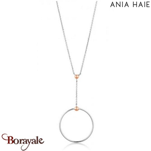 Out Of This World, Collier Argent - plaqué Or rose ANIA HAIE N001-02T
