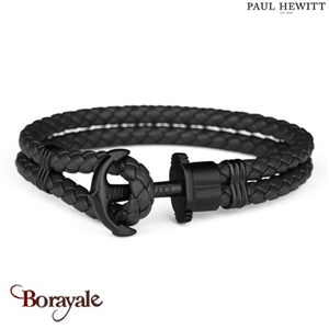 Bracelet PAUL HEWITT collection Phreps cuir PH-PH-L-B-B-M ( taille M )