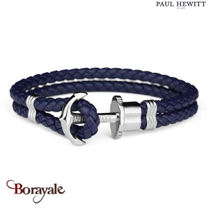Bracelet PAUL HEWITT collection Phreps cuir PH-PH-L-S-N-L ( taille L )