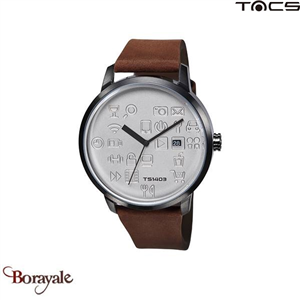 Montre  TACS Daily Icon Homme Camel