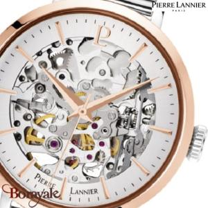 Montre PIERRE LANNIER Collection AUTOMATIQUE argenté milanais Femme