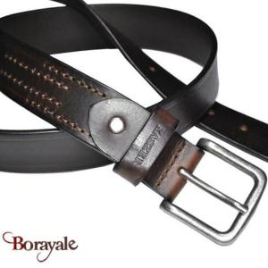 Ceinture KASZER collection Indiana en cuir de buffle 578504-C6