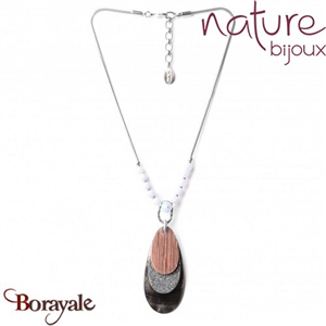 Collection Cloudy, Collier Nature Bijoux 15--28011