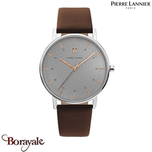 Collection homme cuir, Montre PIERRE LANNIER 202J184