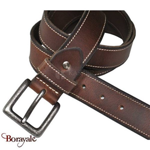 Ceinture en cuir de buffle KASZER Collection Indiana 577904-C6