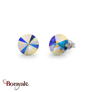Boucles d'oreilles SPARK collection Candy made with Swarovski Elements A129AB