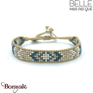 "Bracelet ""Belle mais pas que"" collection Rock Bohème B-1359-RB"