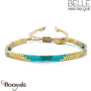 "Bracelet ""Belle mais pas que"" Collection Gold Bora Bora B-1370-GBB"