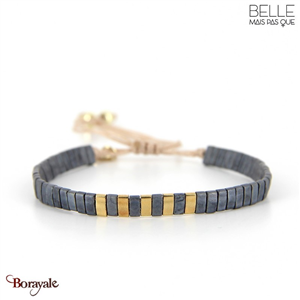 bracelet -Belle mais pas que- collection Gold Pastel Green B-1802-PASTL