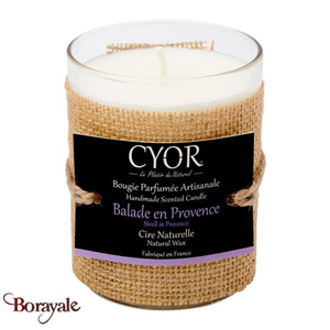 Bougie Parfumée CYOR Balade en Provence: Made in France