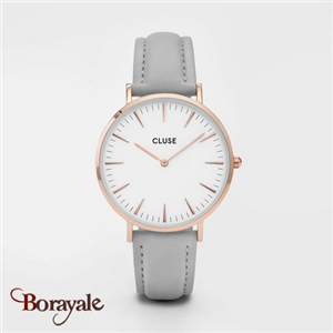 Montre Cluse La Bohème Rose Gold White/Grey CL18015-CW0101201007