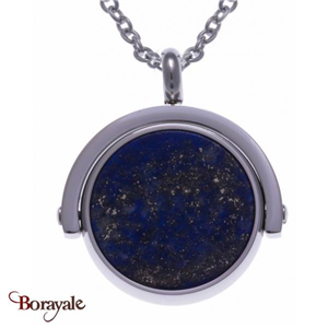 Collier lapis et onyx, Collection: Recto-Verso YOLA