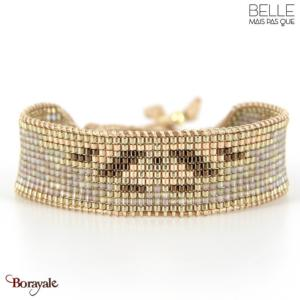 bracelet -Belle mais pas que- collection Golden Almond B-1794-ALMD