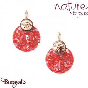 Collection Cappucino, Boucles d'oreilles NATURE 12--76969