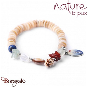 Collection BAHIA, Bracelet Nature bijoux 13--30151