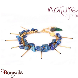Collection Agapanthe, Bracelet Nature Bijoux 13--31431