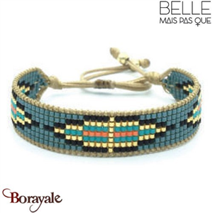 "Bracelet ""Belle mais pas que"" collection Golden Summer B-1008-GSU"