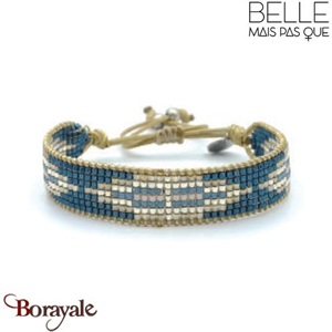 "Bracelet ""Belle mais pas que"" collection Rock Bohème B-1008-RB"