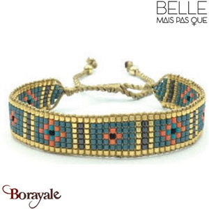 "Bracelet ""Belle mais pas que"" collection Golden Summer B-1175-GSU"