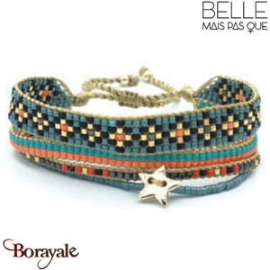"Bracelet ""Belle mais pas que"" collection Golden Summer B-1176-GSU"