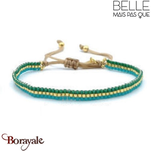 "Bracelet ""Belle mais pas que"" Collection Gold Bora Bora B-1369-GBB"