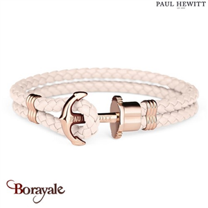 Bracelet PAUL HEWITT collection Phreps cuir PH-PH-L-R-PR-XL ( taille XL )