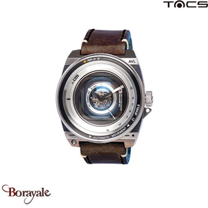 Montre  TACS AVL II automatique Homme Marron