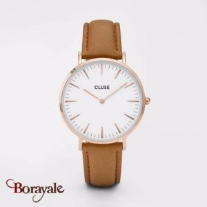 Montre Cluse La Bohème Rose Gold White/Caramel CL18011-CW0101201017