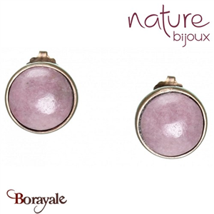Collection Granada, Boucles d'oreilles NATURE Bijoux 12--25434