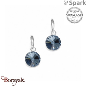 Boucles d'oreilles SPARK collection Candy made with Swarovski Elements A126B