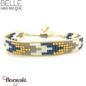 """Bracelet """"Belle mais pas que"""" Collection Golden sky B-438-GS"""