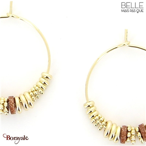 Boucles d'oreilles -Belle mais pas que- collection Noa BO8 NOA-BO8