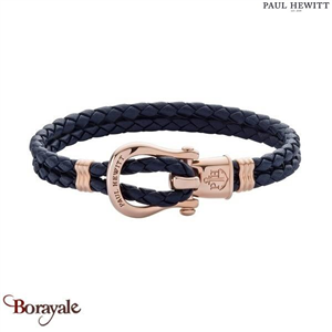 Bracelet -PAUL HEWITT- collection Manille - cuir PH-FSH-L-R-N-S taille S