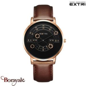 Montre EXTRI City Homme X3016RBLR03A