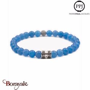Bracelet homme perle agate