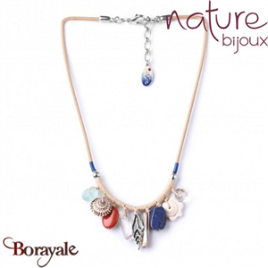 Collection BAHIA, Collier Nature bijoux 15--27174