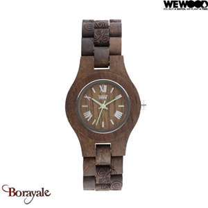 Montre en bois WEWOOD CRISS Indian choco rough 70210-530