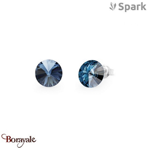 Boucles d'oreilles SPARK collection Candy made with Swarovski Elements A129B