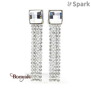 Boucles d'oreilles SPARK bijoux made with Swarovski Elements A20W
