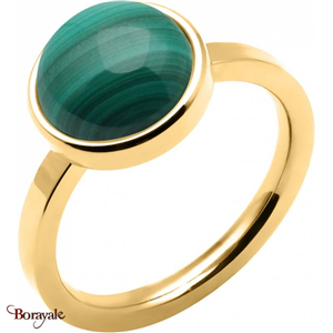 Bague malachite, Collection: Cabochon YOLA Taille 56