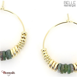 Boucles d'oreilles -Belle mais pas que- collection Noa BO11 NOA-BO11