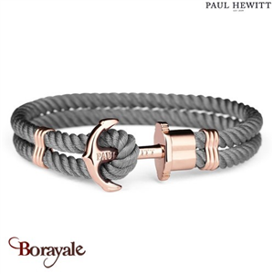 Bracelet PAUL HEWITT collection Phreps nylon PH-PH-N-R-GR-S ( taille S )